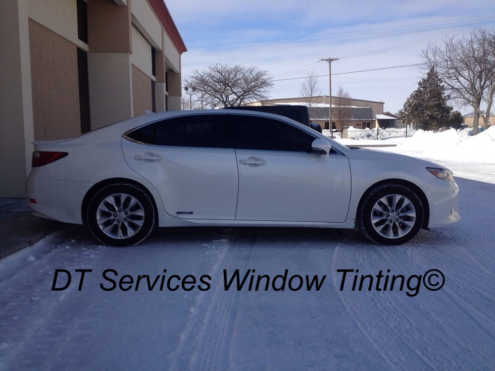 Invisible window tint for Window tinting