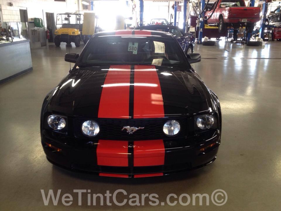Dual rally stripes